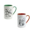 Tintin 2 mug set Champagne and Congo