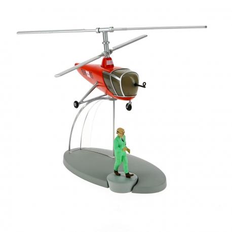 Helicoptero BH15 da base de Sbrodj