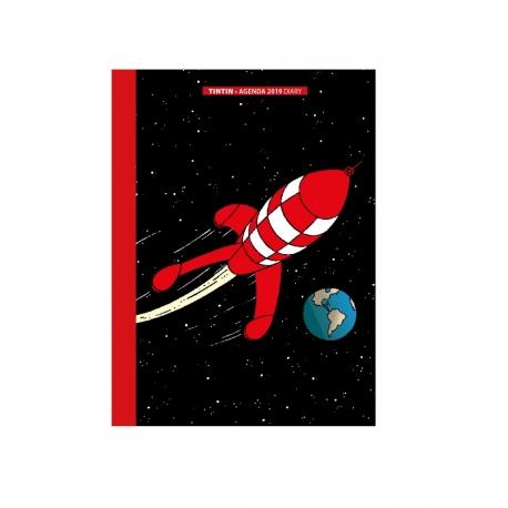 Agenda de bolso Tintin 2019