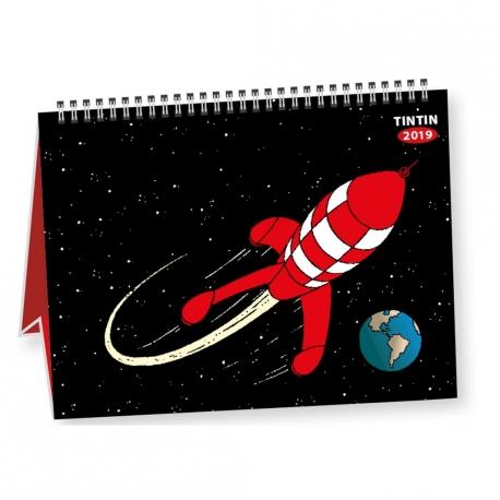 Calendrier de mesa Tintin 2019