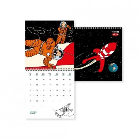 Tintin calendar 2019