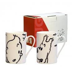 Conjunto duas Canecas Tintin e Milou