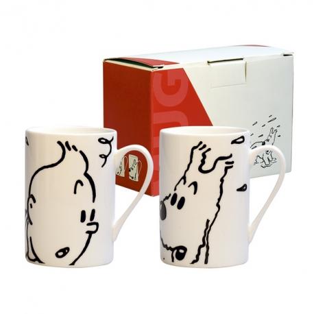 Conjunto duas Canecas (Tintin e Milou / Tintin e Haddock)