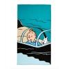 Tintin Beach towel kids - Submarine Shark