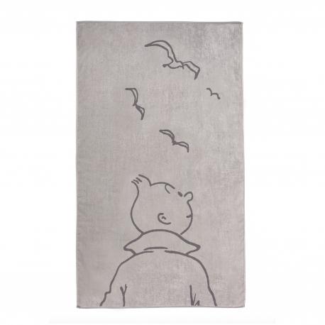 Toalha de praia Tintin grd. - gaivota