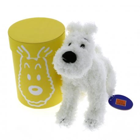 Milou peluche (20 cm) boîte jaune