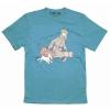 "T-Shirt Tintin ""Ils arrivent!"" azul"