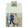Housse de couette Rackham - Tintin et Haddock