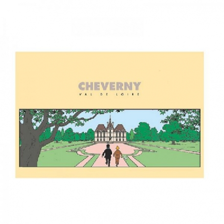 Postal Château de Cheverny (15 x 10 cm)