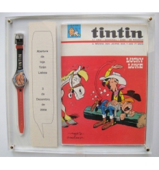 Swatch watch Tintin and Tintin (Special Edition store opening Tintin Lisbon)