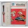 Edição especial de abertura da loja (Relógio Swatch Tintin e revista Tintin)