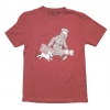 "T-Shirt Tintin ""Ils arrivent!"" red"