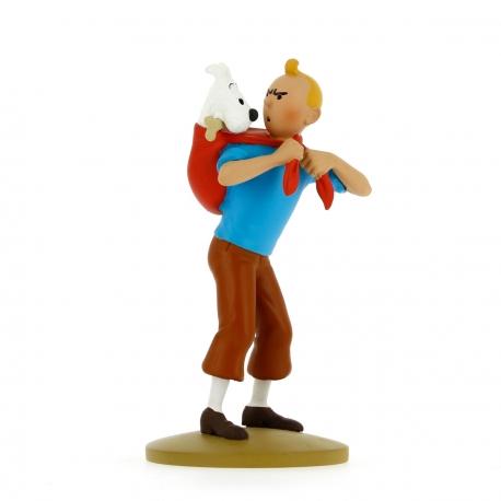 Tintin leva Milou