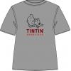 T-Shirt Tintin Bruxelles (Ginza/vermelho)