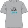T-Shirt Tintin Bruxelles (Grey/Blue)