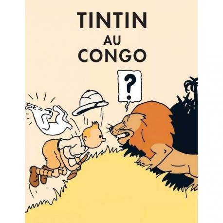 Carte Postal Tintin Au Congo CL