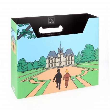 File Box Tintin - Moulinsart Castle