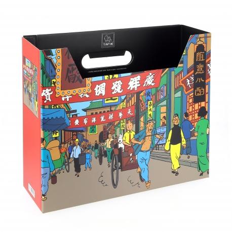 File Box Tintin - Street of Shanghai