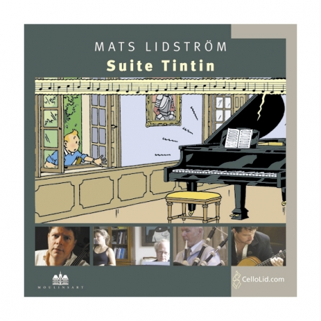CD - Suite Tintin Mats Lidström