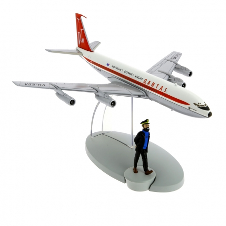 Le boeing 707 Qantas Australia's Overseas