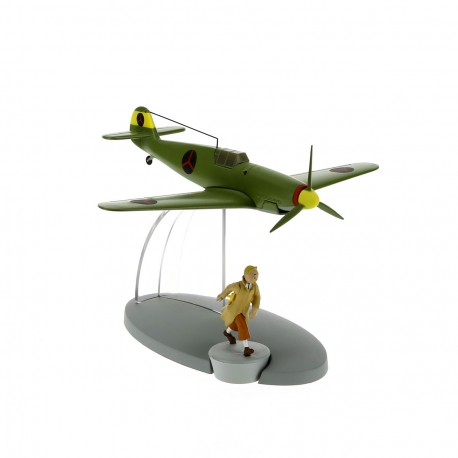 The Bordurian BF-109 fighter plane