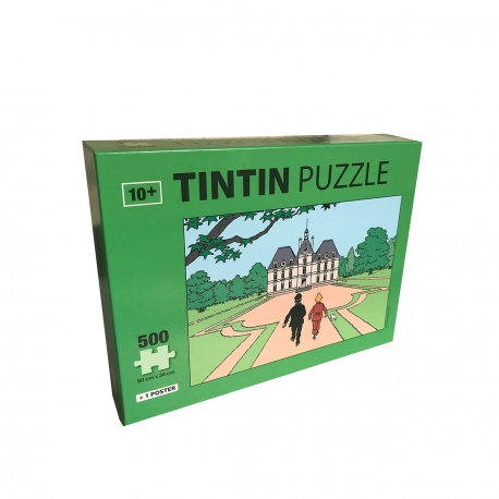 Puzzle + poster Tintin – Moulinsart
