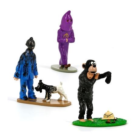 Tintin triptych