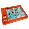 Tintin puzzle, weightless in Rocket + poster 50x66,5cm
