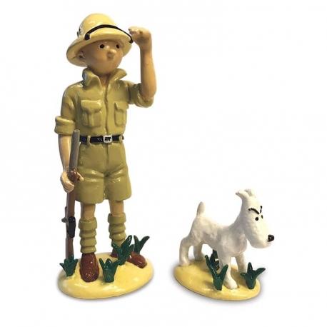 Tintin e Milou Congo