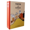 BOX LITHO-TINTIN IN CONGO-COLORED
