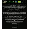Lata café bio comércio justo TINTIN AU CONGO - leopardo