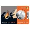 Coin 5 € Belgium Tintin 90th Anniversary