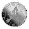Moeda 5 € Bélgica - Tintin 90º Aniversário