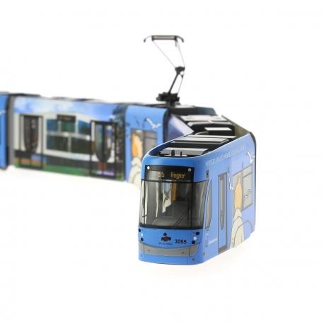 Tintin Tram STIB
