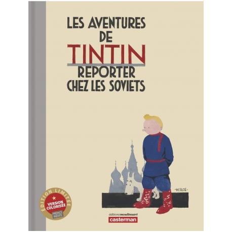 Tintin au pays des Soviets, edition colorisée, version luxe