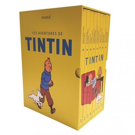 Tintin COFFRET INTEGRAL FR