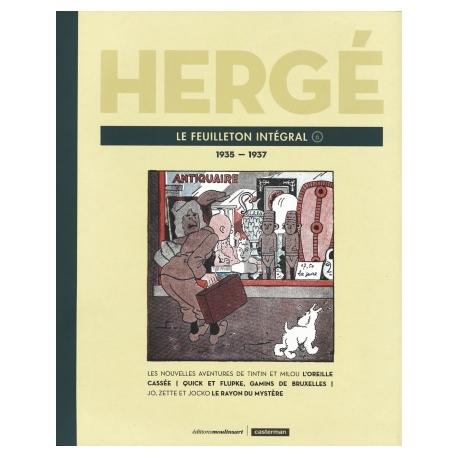HERGÉ LE FEUILLETON INTÉGRAL T6: 1935 - 1937