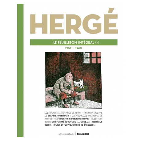 HERGÉ LE FEUILLETON INTÉGRAL T8: 1938 - 1940