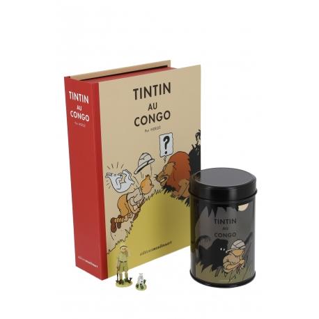 PACK TINTIN AU CONGO - Cofee Leopard