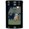 TIN FAIRTRADE COFFEE TINTIN AU CONGO - leopard