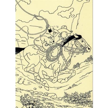 Tintin Horse