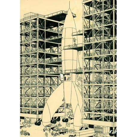 Postcard Rocket