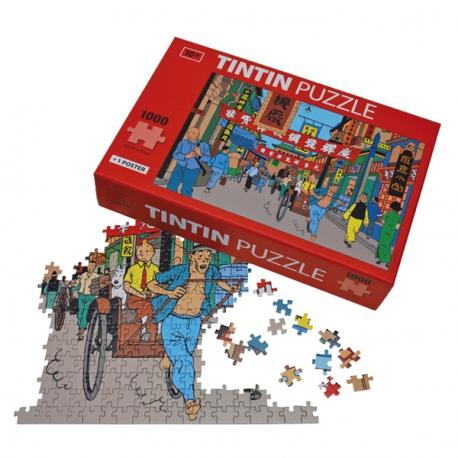 "Puzzle ""Shanghai street"""