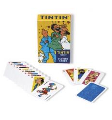 Paquet de cartes Tintin (PERSONNAGES)