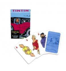 Deck of Cards Tintin (VEHICLES)