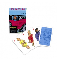 Deck of Cards Tintin (VEHICLES- 9 cm x 6 cm x 2 cm)