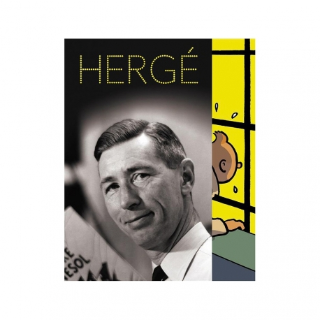 Postcard - Hergé Exhibition Grand Palais Tintin