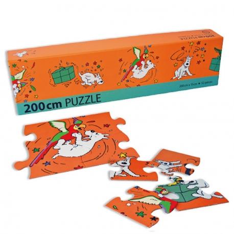 Puzzle Milou e o Papagaio