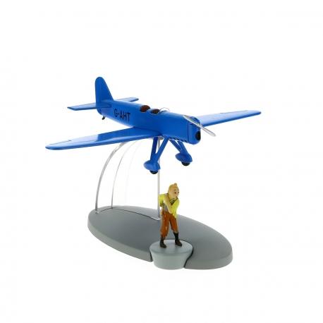 31-Blue racing plane