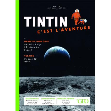 TINTIN C'EST L'AVENTURE N°1